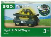 Brio 33896 Light Up Gold Wagon